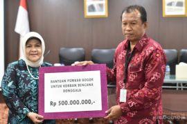 Pemkab Bogor serahkan bantuan gempa Donggala