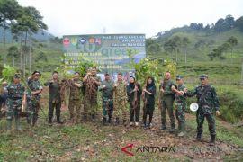 Korem 061/Suryakancana tanam 2.000 pohon di Puncak