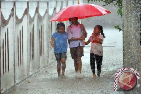 Jakarta akan diguyur hujan ringan
