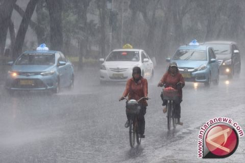 Depok-Bogor hari ini berpotensi hujan sedang