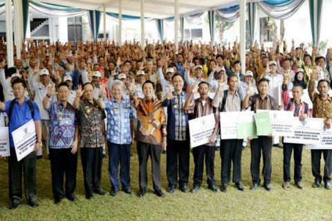 Menjaga Hutan Lampung Untuk Kelestarian Cadangan Air Waduk Pertanian