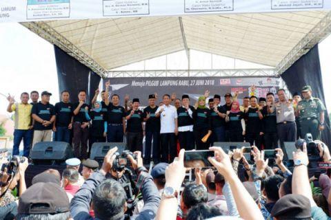 Deklarasi Kampanye Damai Di Lampung