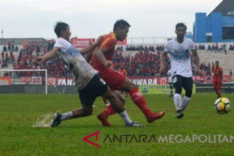 Persika Karawang kalahkan Cilegon 4-0