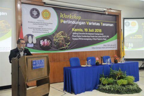 IPB dan Kementan bahas perlindungan kekayaan intelektual varietas tanaman
