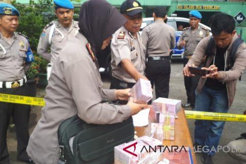 Polresta Bogor tangkap pengedar uang palsu lagi