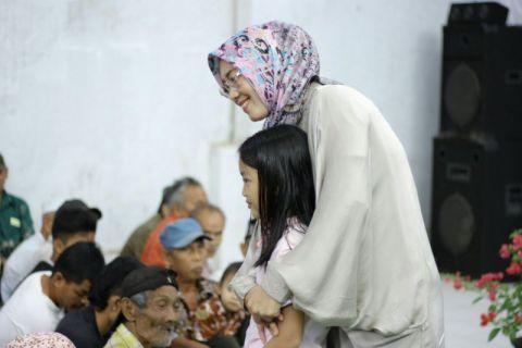 Bupati Purwakarta terpilih dilantik dalam kondisi hamil
