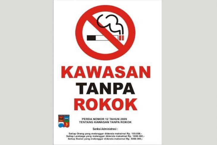 Tingkat kepatuhan KTR Kota Bogor masih rendah