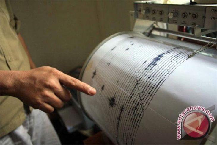 Mentawai diguncang enam kali gempa susulan