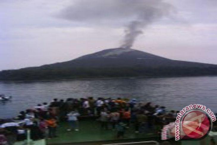 Erupsi Gunung Anak Krakatau berhenti