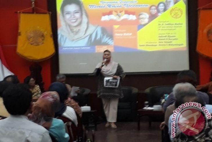 Yenny Wahid: Masyarakat Pertimbangkan Kinerja Dalam Memilih