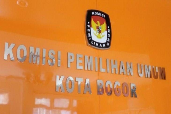 KPU tetapkan empat pasangan calon pilwakot Bogor