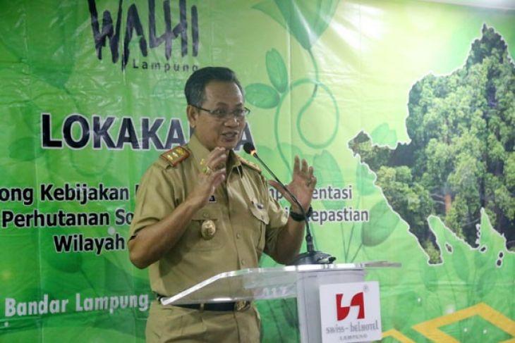 Lampung Sudah Punya 184 Hektare Lebih Perhutanan Sosial