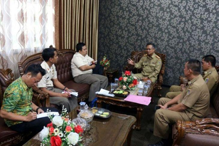 Provinsi Lampung Menjadi Tujuan Studi Bela Negara Kemenhan