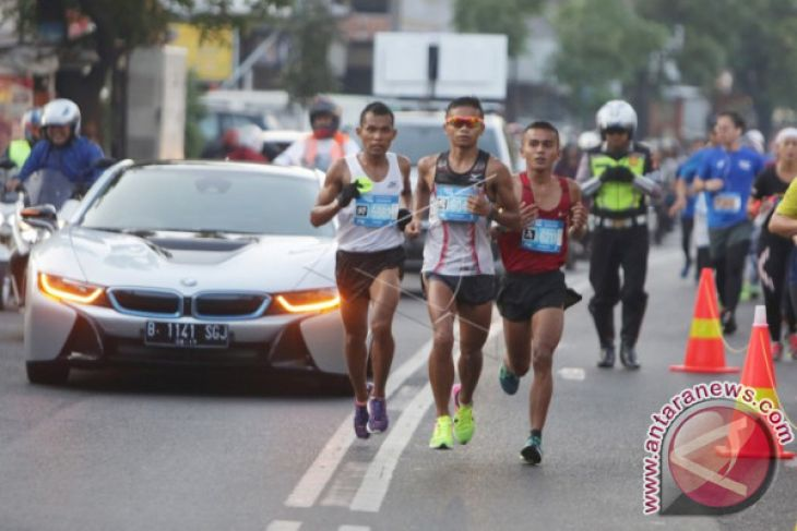 Lari Marathon Dan Promosi Pariwisata Bandung Diikuti 12 Negara