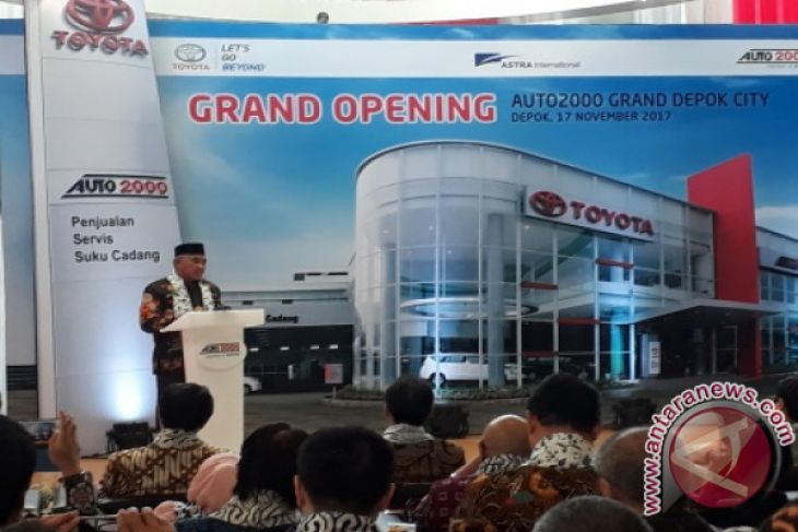Auto2000 Investasi Rp70 Miliar Di Depok