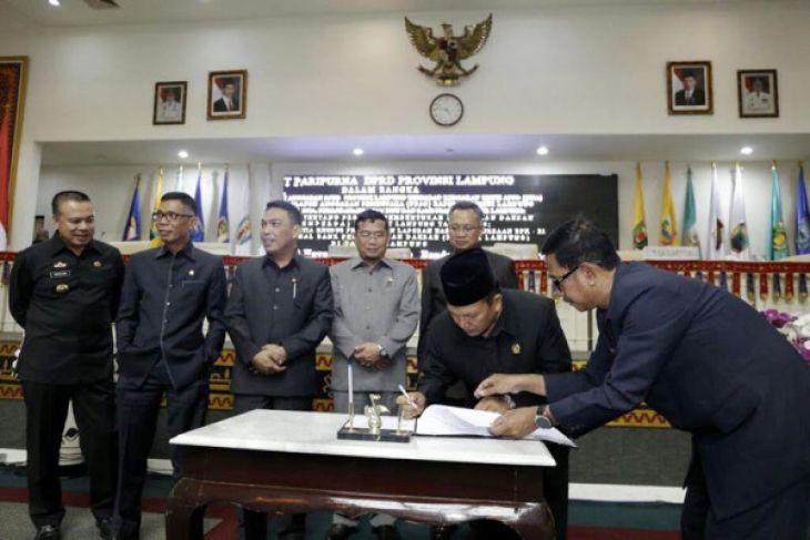APBD Provinsi Lampung Tahun 2018 Sebesar Rp7,5 Triliun