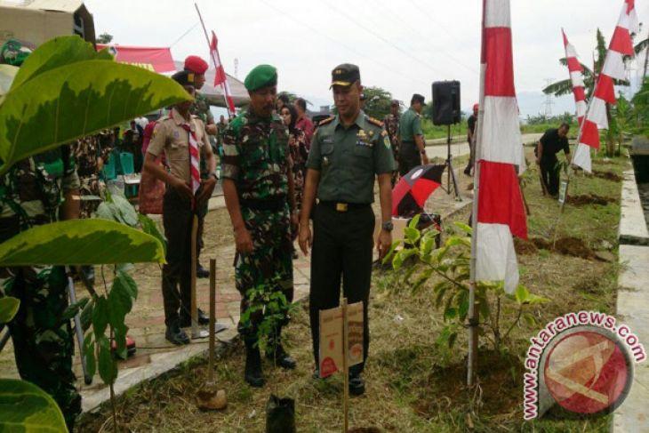Dandim Kota Bogor Ajak Warga Jaga Lingkungan