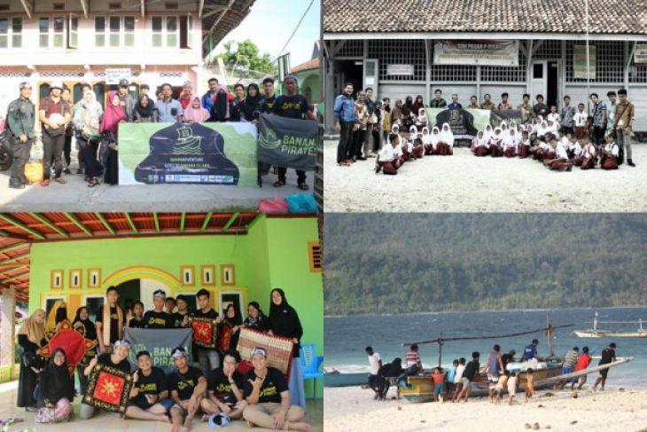 Nikmati liburan, banana pirates IPB kenalkan pendidikan cinta budaya dan lingkungan di Pulau Pisang