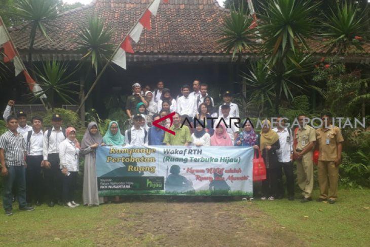 FKH Nusantara inisiasi gerakan wakaf RTH