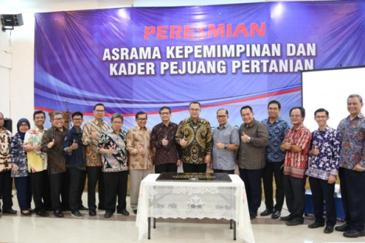 IPB resmikan asrama kepemimpinan dan kader pejuang pertanian