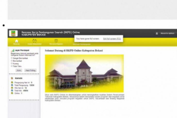 Pemkab Bekasi segera luncurkan RKPD online penyempurnaan