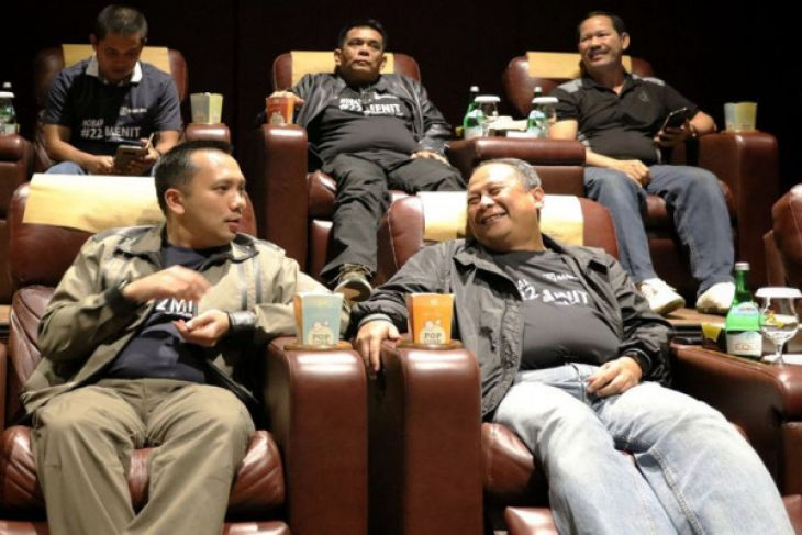 Gubernur Ridho Harapkan Masyakarat Nonton Film