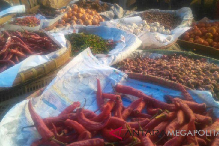 Harga cabai dan telur di Sukabumi naik