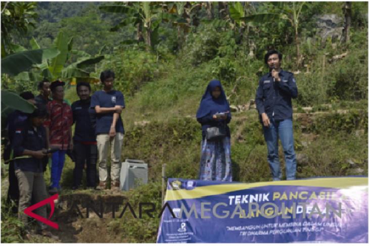 Fakultas Teknik Universitas Pancasila kembali bangun desa