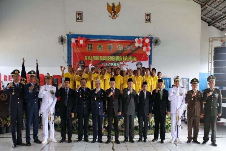 3.469 Narapidana Di Lampung Menerima Remisi HUT Ke-73 RI Tahun 2018