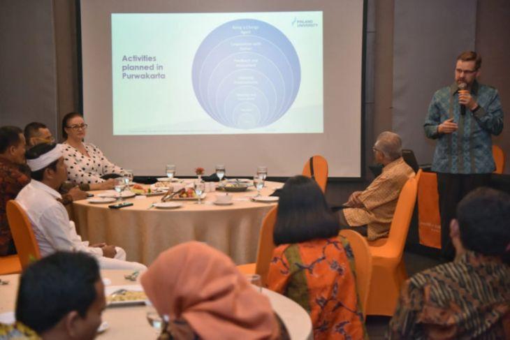 Disdik Purwakarta kolaborasi pendidikan dengan Finlandia University