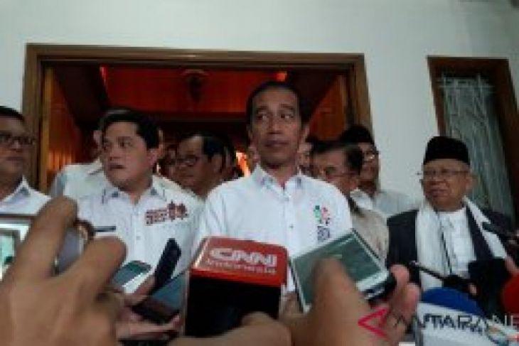 Jokowi-Ma'ruf akan ambil nomor urut peserta Pilpres