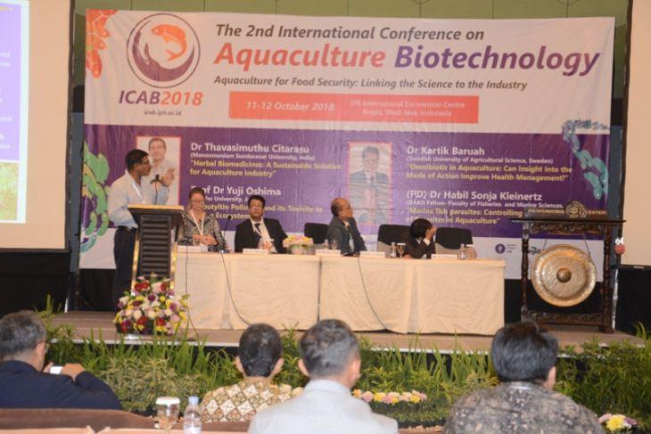 Departemen Budidaya Perairan IPB gelar Konferensi Internasional tentang Bioteknologi Akuakultur