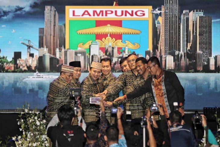 Pembukaan Lampung Fair 2018 Berlangsung Meriah