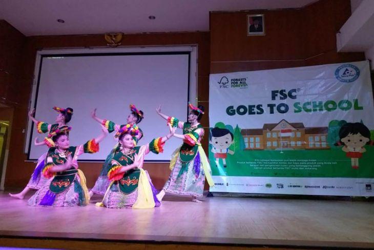 FSC berikan edukasi lingkungan ke Sekolah