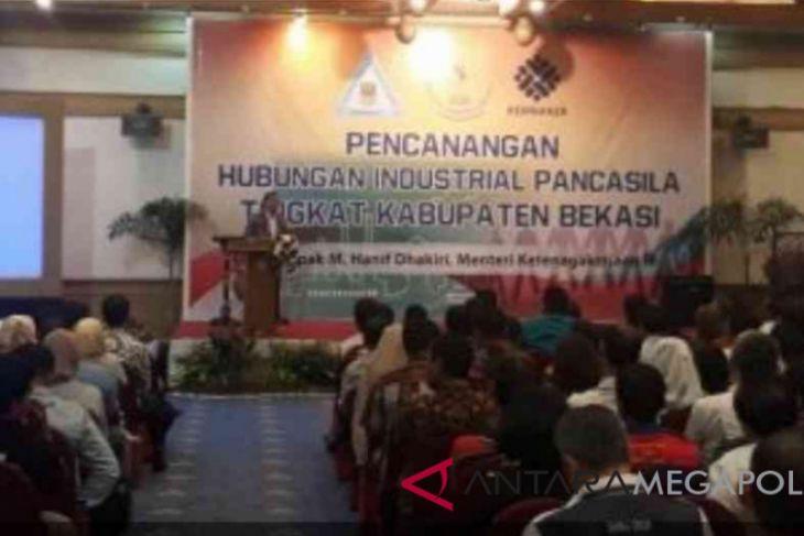 Kabupaten Bekasi jadi percontohan hubungan industrial Pancasila