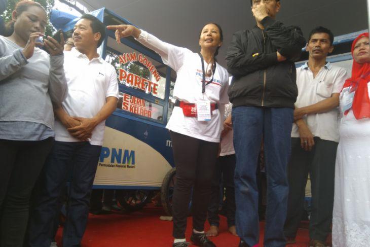 Presiden Jokowi Menambah Suntikan Dana PNM Mekaar