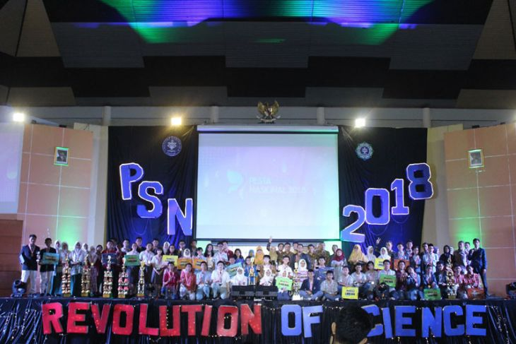 Calon ilmuwan muda Indonesia, adu hebat dalam Pesta Sains Nasional 2018 di IPB