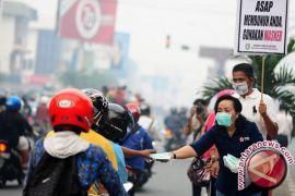 Masyarakat Palangka Raya Mulai Cium Asap Kebakaran