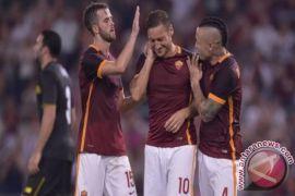 Dua penalti warnai kemenangan Roma atas Lazio