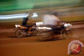 Polisi Bubarkan Balapan Liar di Kota Gorontalo