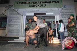 Kapolres: kerusuhan Lapas Bengkulu terorganisir