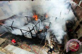 Polisi Selidiki Penyebab Kebakaran di Limboto