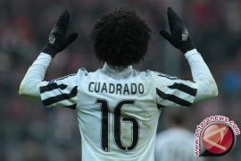 Cuadrado antar Juventus tekuk Sampdoria 1-0 di babak pertama