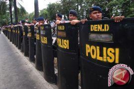 Polres Gorontalo Tambah Personil Untuk Pengamanan Mako