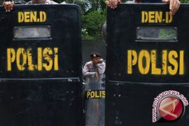 125 Polisi Amankan KPU Kota Gorontalo