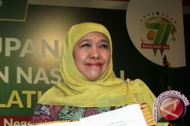 Khofifah: Saya Tetap Dukung Jokowi