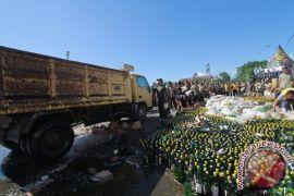 Polres Gorontalo Kota Musnahkan Ribuan Botol Minuman Keras