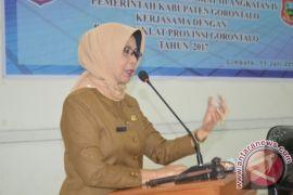 Pemkab Gorontalo Terus Menggiatkan Penanaman Pohon