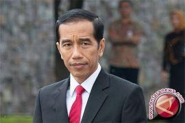 Jokowi temui para pengusaha di Istana Merdeka
