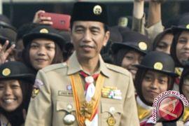 Presiden Jokowi minta Pramuka lakukan terobosan inovatif